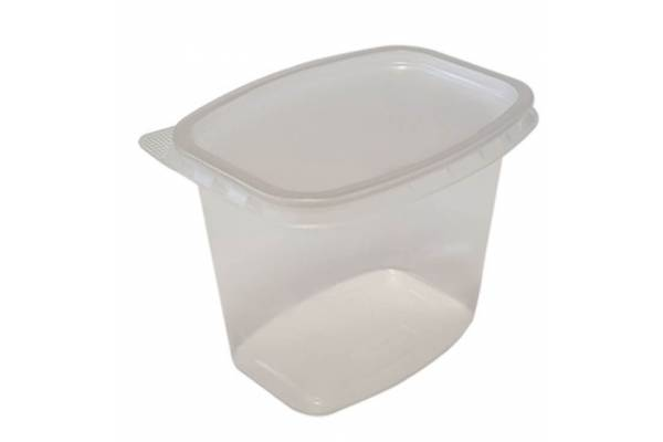 Food container with lid 1000ml 100pcs.