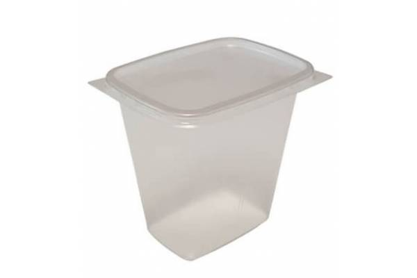Food container with lid 500ml 100pcs.
