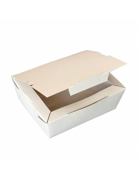 Disposable paper lunch box 1000ml / 60pcs.