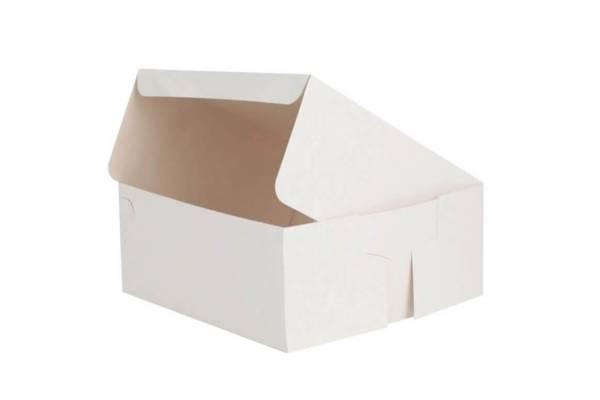 Kartoninė dėžutė tortui 150x150x100mm
