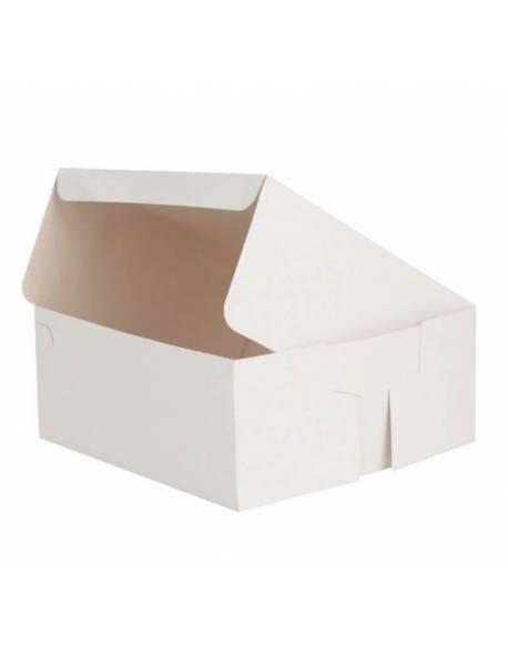 Dėžutė tortui 300x300x125mm Balta