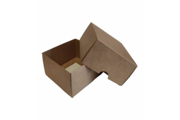 Cardboard box of 2 parts 90x90x50mm (XS)