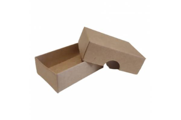 Cardboard box of 2 parts 80x55x25mm (XS)