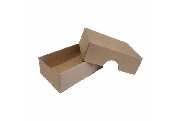 Cardboard box of 2 parts (S) 210x210x60mm