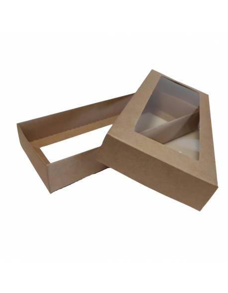Cardboard box with PVC box, 2-part (S) 200х90х30mm