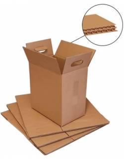 Kartoninė dėžė su rankenomis 300x200x320mm (L)