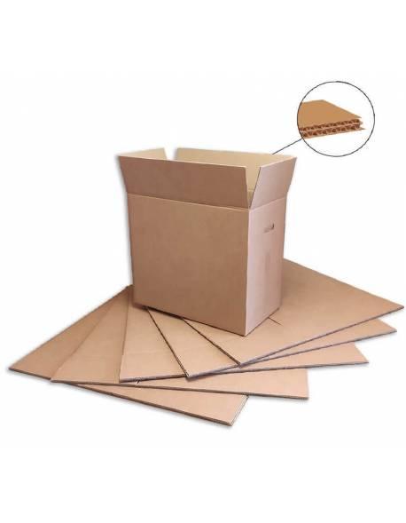 Kartoninė dėžė su rankenomis 600x330x540mm