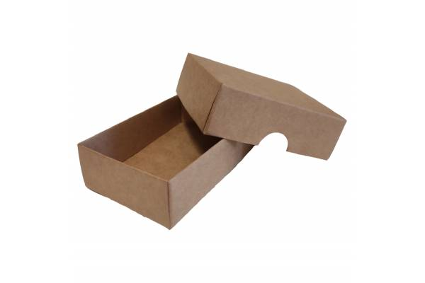 Cardboard box of 2 parts 100x70x30mm (XS)