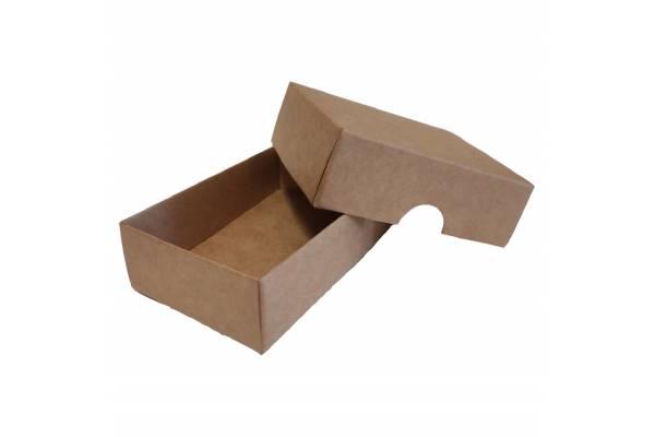 Kartoninė dėžutė 2-jų dalių 100x70x30mm (XS)