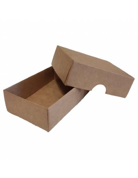 Cardboard box of 2 parts 100x70x30mm (XS)