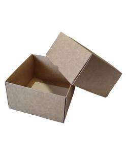 Cardboard box of 2 parts 120x120x70mm (XS)