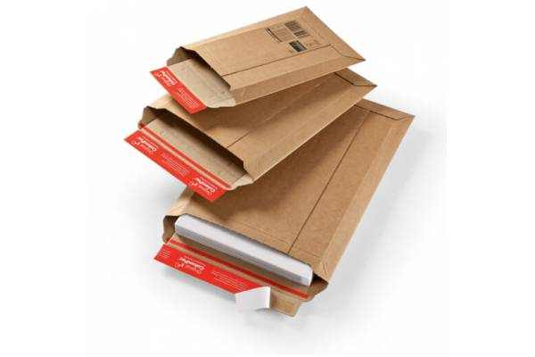 Very strong, cardboard envelopes CP010, 185x270mm / 50mm