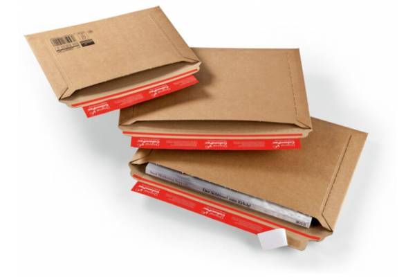 Very strong, cardboard envelopes 270x185mm / 50mm