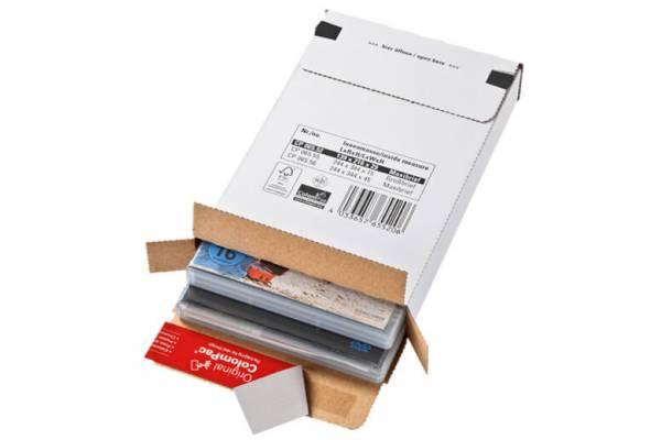 Kartoninės dėžutės pašto siuntoms 139x216x29mm