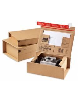 Kartoninė dėžutė siuntoms CP066, 215x155x43mm (XS)