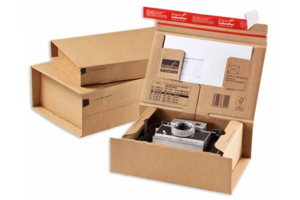 Cardboard box for shipments 215x155x43mm (XS)
