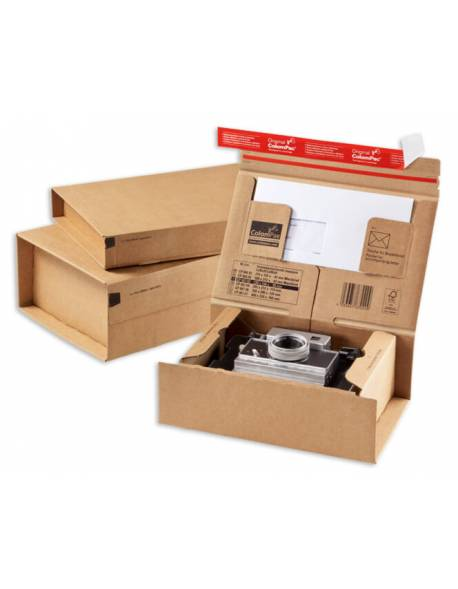 Kartoninė dėžutė siuntoms 215x155x43mm (XS)