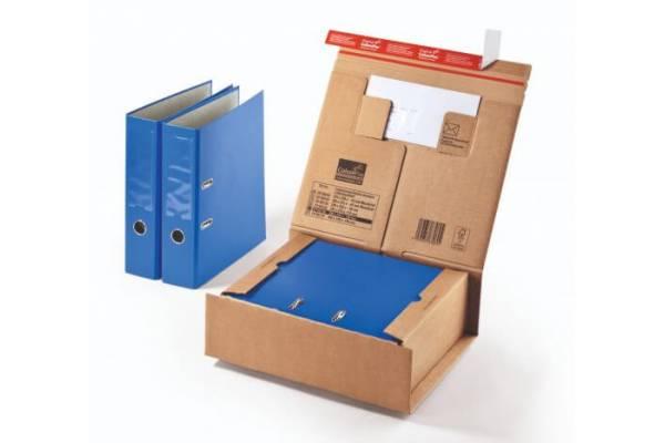 Kartoninė dėžutė siuntoms CP067, 230x166x90mm (M)