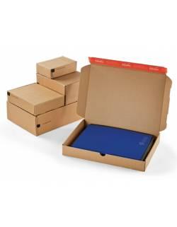 Kartoninė dėžutė siuntoms CP080, 140x101x43mm (XS)