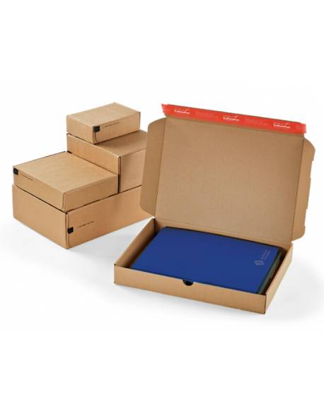 Kartoninė dėžutė siuntoms 140x101x43mm (XS)