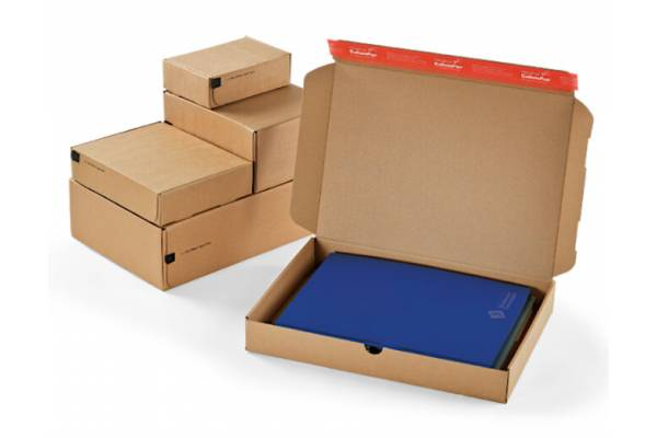 Kartoninė dėžutė siuntoms 192x155x43mm (S)