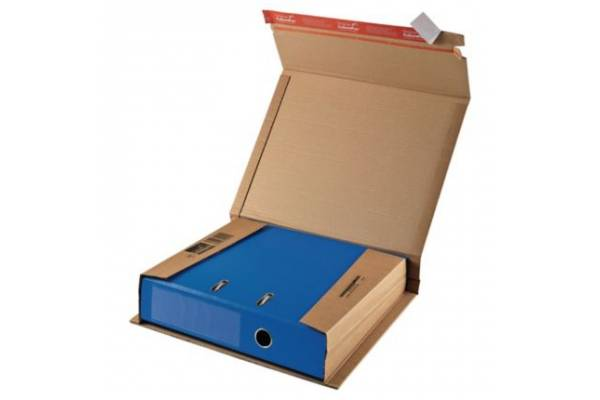 Kartoninė dėžutė siuntoms CP050, 320x290x35-80mm (M)