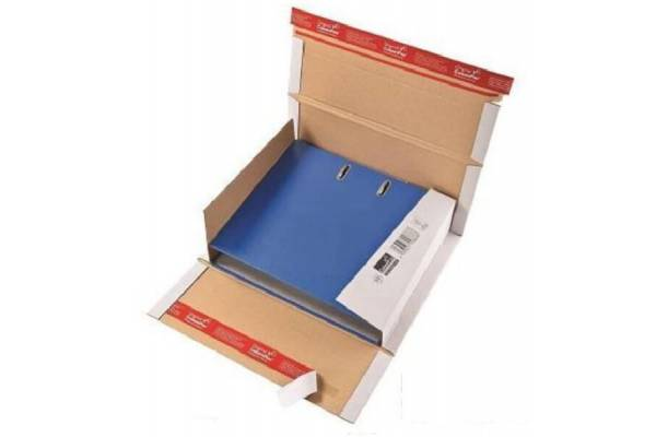 Kartoninė dėžutė siuntoms CP055, 320x290x35-80mm (M)
