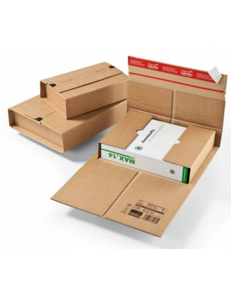 Kartoninė, tvirta dėžutė siuntoms 350x260x70mm (M)