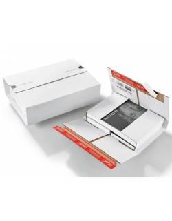 Kartoninė, lanksti dėžutė siuntoms CP037, 250x190x75mm (M)