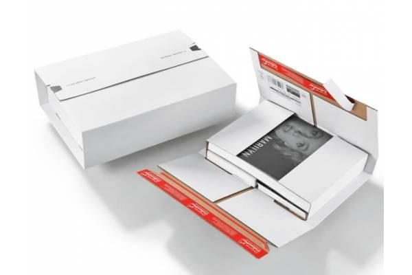 Kartoninė, lanksti dėžutė siuntoms + 2 lipnios juostelės 350x260x70mm