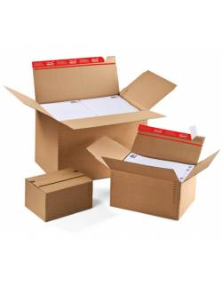 Cardboard box with adjustable height CP141, 344x290 / 32-132mm