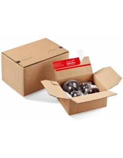 Cardboard boxes with adjustable height CP151, 230x160x80mm