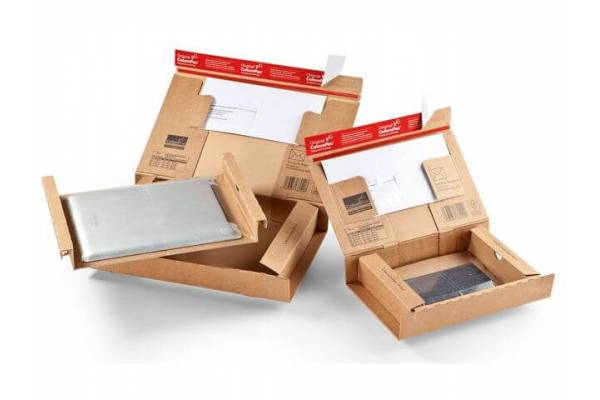 Cardboard box for sending laptops, tablets and phones CP140, 490x412x109mm