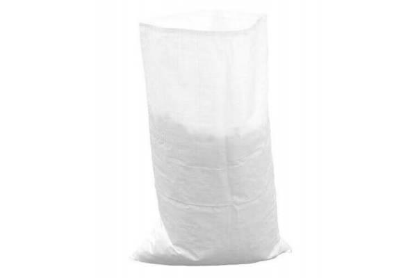 PP maišai/bags 550mm x 1100mm balti/white (80g)