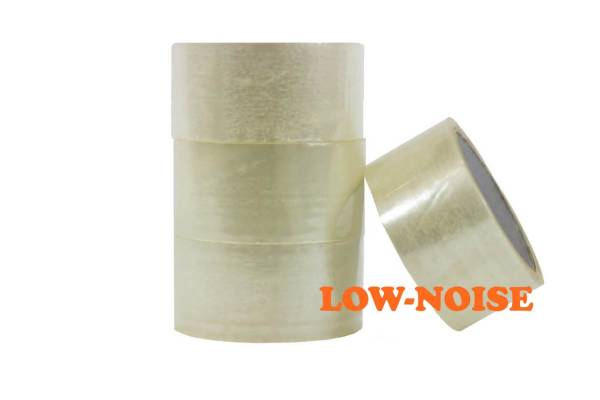 Packaging adhesive tape 50mmx66m Clear Low noise