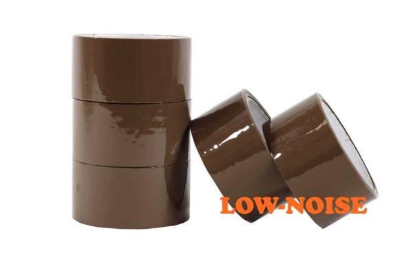 Lipni juosta 48mmx54m ruda, acrylic kl low noise D4