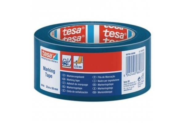 Marking tape tesa® 60760  50mmx33m Blue