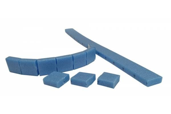 Apsauginės, klijuojamos pagalvėlės 50x50x10mm/23vnt.
