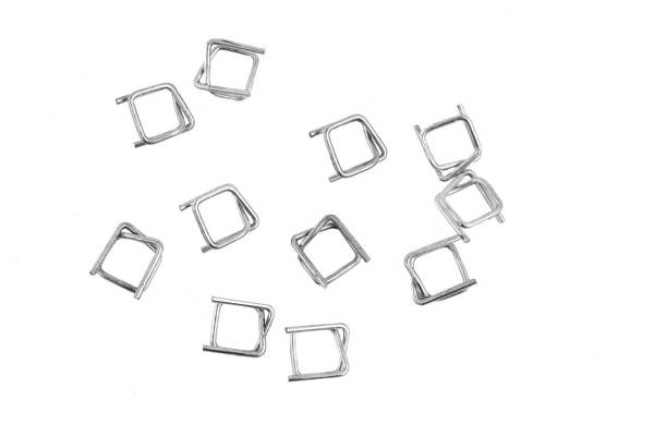 Wire buckles for fastening strap 13mm / 1000pcs.