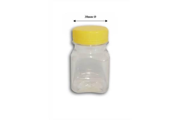 Bottle PET 80ml + 38mm stopper