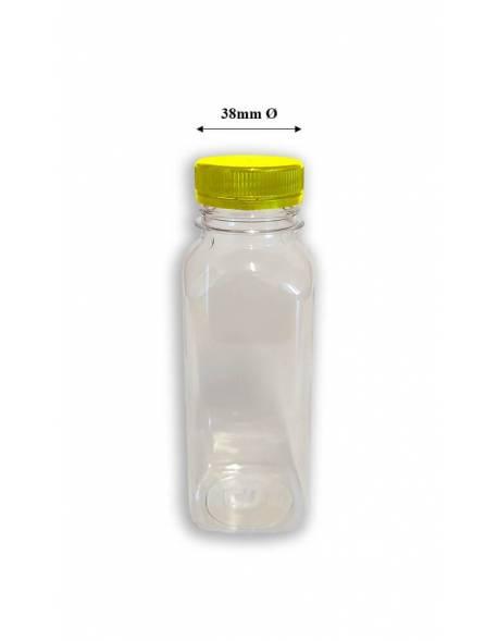 Buteliukas PET 500ml kvadratinis
