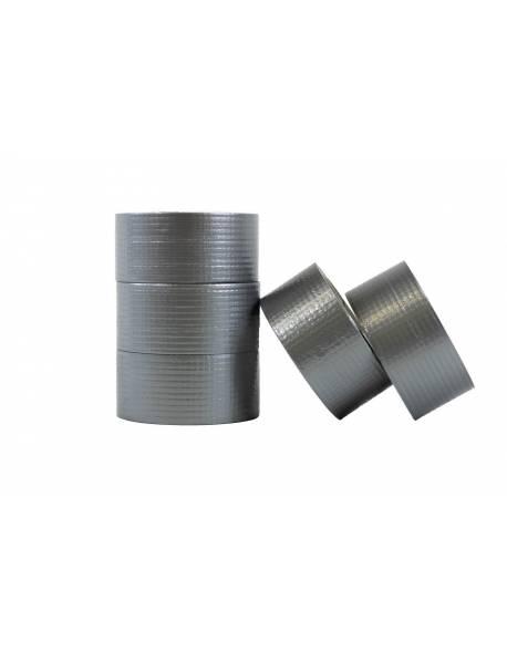 Universali audinio juosta 50mmx25m pilka duct tape silver 36 rolls/box