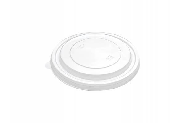 PET skaidrūs dangtelis dubenėliui salotoms Ø184mm 50vnt/pak.300vnt/dėž