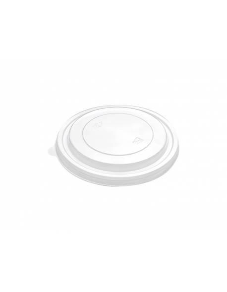 PET skaidrūs dangtelis dubenėliui salotoms Ø149mm 50vnt./pak. 300vnt/dėž
