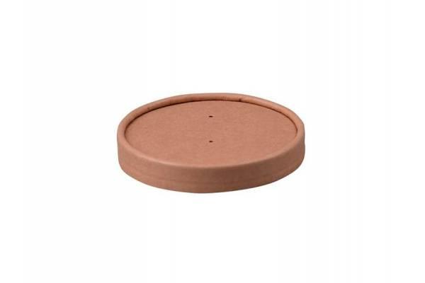 Popierinis dangtelis sriubos 770ml indui 25 vnt/pak Ø117mm 500vnt/dėž