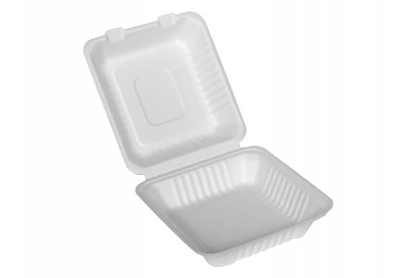 Disposable paper lunch box 230x230x75mm / 50pcs.