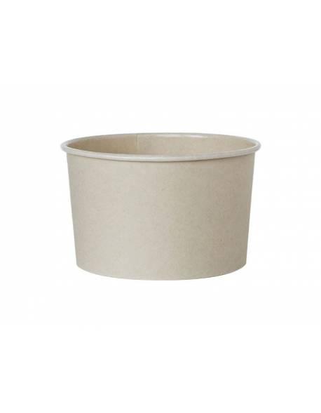 Vienkartinis dubenėlis bambukas 130ml 25 vnt/pak1000vnt/dėž
