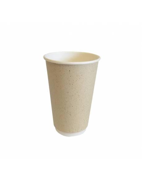 Vienkartinis popierinis puodelis 400ml, Ø90mm / 20vnt.