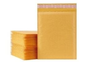 Envelopes for parcels with bubble film inside