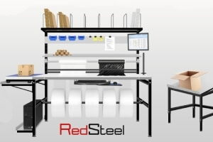 Modular packing tables